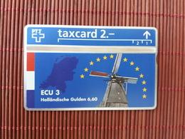 Phonecard Private Zwitserland 304L Ecu 3  (Mint,Neuve) Rare - Suisse