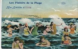 CPA - Belgique - Oostende - Ostende - Les Plaisirs De La Plage - Oostende