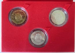 38006 - COFFRET 1, 2 Et 20 EURO DES VILLES - 38 VOIRON  - 1998 - Euros Des Villes