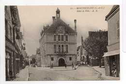- CPA MONTRICHARD (41) - Hôtel De Ville (avec Personnages) - Edition A. B. N° 61 - - Montrichard
