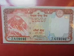 NEPAL 20 RUPEES 2012-13 PEU CIRCULER/NEUF - Nepal