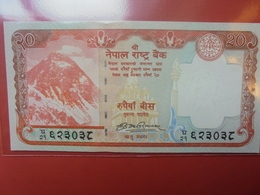NEPAL 20 RUPEES 2012-13 PEU CIRCULER/NEUF - Népal
