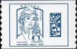 Autoadhésif(s) De France N° 1216,** Marianne De Ciappa Et Kawena Datamatrix. Sans Les Poids Europe - Ongebruikt
