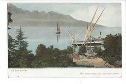 21919 - Le Lac Léman Et Le Vapeur Léman 1912 - VD Vaud