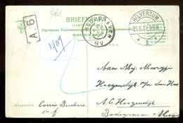 HANDGESCHREVEN BRIEFKAART Uit 1907 Van HILVERSUM Naar BODEGRAVEN  (11.549d) - Periode 1891-1948 (Wilhelmina)