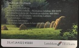 Paco \ LETTONIA \ LV-LTK-0026 \ Summer Landscape - Serial Number 31LAT \ Usata - Letland
