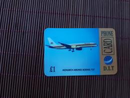 Phonecard Airplane 2 Scans - Avions