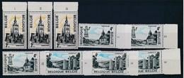 BELGIE - OBP Nr 1734/1736 - Toerisme - PLAATNUMMER I/III - MNH** - Numéros De Planches