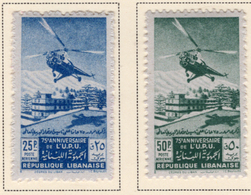 1949 - LIBANO - LEBANON - Mi. Nr.  411/412 - LH - (S03052019.....) - Libano
