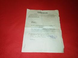 TUNGSRAM Societe Anonyme Delectricite Zurich - Kingdom Of Yugoslavia Zagreb Beograd - RARE - Schweiz
