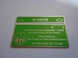 TELECARTE TCHAD 30 UNITES N° 305D34911 UTILISE - Tsjaad