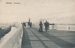CPA - Belgique - Oostende - Ostende - Estacades - Oostende
