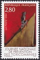 FRANCE, 1994, Journée Mondiale De Prévention Des Toxicomanies (Yvert 2908 ) - France