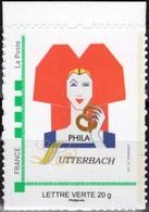 FRANCE Timbre Personnalisé MonTimbraMoi ** Lutterbach Haut-Rhin Brasserie Bière Bretzel Alsacienne Beer Bier Cerveza - Personalized Stamps (MonTimbraMoi)