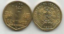 Peru 5 Centimos 1998. KM#304.2 High Grade - Peru