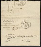 DA MACERATA A FABRIANO - 17.7.1834. - Italia