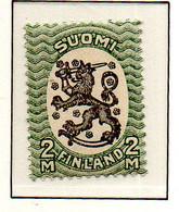 PIA - FINLANDIA - 1918-21  : Uso Corrente - Stemma  (Yv 78) - Unused Stamps