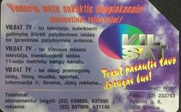 Paco \ LITUANIA \ LT-LTV-M031 \ Vilsat Cable Tv \ Usata - Lituania