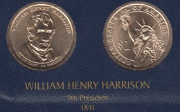 "DOLARA PRESIDENTES ""WILLIAM HENRY HARRISON"" - Colecciones"