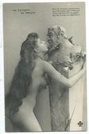 """NU - """"LA NYMPHE AU SATYRE"""" - CPA - Nus Adultes (< 1960)"""