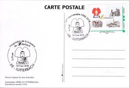 FRANCE Carte MonTimbraMoi FDC Lutterbach Haut-Rhin Brasserie Bière Bretzel Alsacienne Beer Bier Cerveza 1 - Personnalisés (MonTimbraMoi)