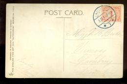 HANDGESCHREVEN POSTKAART Uit 1915 Van ENSCHEDE Naar GLANERBRUG  (11.549o) - Periode 1891-1948 (Wilhelmina)