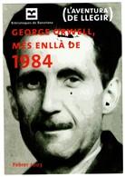 SPAIN TARJETA TIPO POSTAL POST CARD PUBLICITARIA ADVERTISING CONMEMORATIVA GEORGE ORWELL MES ENLLÀ DE 1984 BARCELONA - Escritores