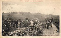 """D21  Les Vendanges En Bourgogne - Beaune - Aux """"Cras"""" - Domaine De MM. Bouchard Père & Fils Prince Russe GALITZINE - Beaune"""