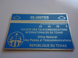 TELECARTE TCHAD 60 UNITES  N° 305007892 UTILISE - Tsjaad