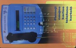 Paco \ LITUANIA \ LT-LTV-C002 \ The First Chip Card \ Usata - Lituania