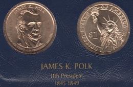 """DOLAR PRESIDENTES """"JAMES K. POLK"""" - Estados Unidos"""