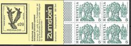 1984 Schweiz Mi. MH 78 A   Deckelvariante  I **MNH  Deckel Gelb, Volksbräuche - Postzegelboekjes