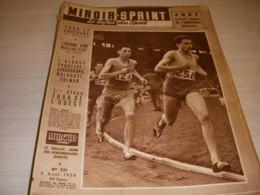 MIROIR SPRINT 531 06.08.1956 ATHLETISME JAZY BERNARD AUTO 24h Du MANS - Sport