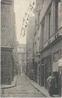 AK 1900 PARIS RÜE DE LA PARCHEMINERIE C.L.C. GESCHÄFTE VINS & LIQUEURS - Petits Métiers à Paris