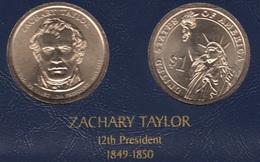 """DOLAR PRESIDENTES """"ZACHARY TAYLOR"""" - Estados Unidos"""