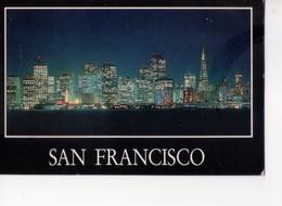 U4424 Postcard SAN FRANCISCO SKYLIGHTED ON A FABULOUS STARLIT - Nuit Nocturne Night Nacht _ Ed Tarwan - San Francisco