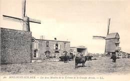 62-BOULOGNE-SUR-MER- LES DEUX MOULINS DE LA COLONNE DE LA GRANDE ARMEE - Boulogne Sur Mer