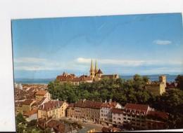 U4426 Postcard NEUCHATEL -LA COLLEGIALE, LE CHATEAU, LES REMPARTS _ LINDA 9327 A.M. - NE Neuchâtel