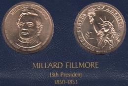 """DOLAR PRESIDENTES """"MILLARD FILLMORE"""" - Estados Unidos"""