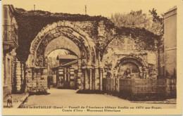 Ivry-la-Bataille (Eure). Portail De L'Ancienne Abbaye Fondée En 1071 Par Roger. - Ivry-la-Bataille