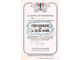 A L'appel Du Maréchal. Croisade De L'air Pur Collection Lopatinsky (La Résistance Fac Similé) - Historical Documents