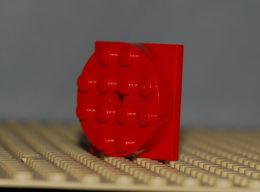 Lego Plate Forme Tournante Rouge 4x4 Complète Ref 3403c01 - Lego Technic