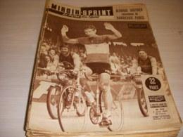 MIROIR SPRINT 574 03.06.1957 CYCLISME BORDEAUX PARIS GAUTHIER BOXE HUMEZ - Sport