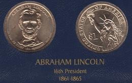 """DOLAR PRESIDENTES """"ABRAHAM LINCOLN"""" - Estados Unidos"""