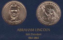 "DOLAR PRESIDENTES ""ABRAHAM LINCOLN"" - Colecciones"