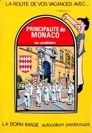 Principauté De MONACO - Les Carabiniers -  La Relève De La Garde Devant L'Entrée Du Palais - Born'Image Autocollant - Palacio Del Príncipe