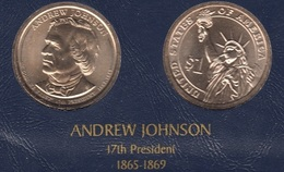 """DOLAR PRESIDENTES """"ANDREW JOHNSON"""""""" - Estados Unidos"""