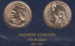"DOLAR PRESIDENTES ""ANDREW JOHNSON"""" - Colecciones"