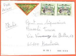 Repubblica Centrafricana - République Centrafricaine - 2004 - Timbre Taxe 5F +2 X 240F Centenaire De L'Eglise Catholique - Repubblica Centroafricana