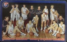Paco \ LITUANIA \ LT-LTV-C048 \ Lietuvos Telekomas Basket-Ball Team \ Usata - Lituania